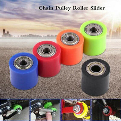 1PC 8mm Chain Roller Slider Tensioner Guide Pulley Dirt Pit Bike Motorcycle M&C