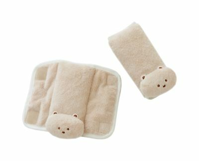 Infant Baby Car Seat Belt Strap Cover Pad Soft Safety Shoulder Pillow Cushy