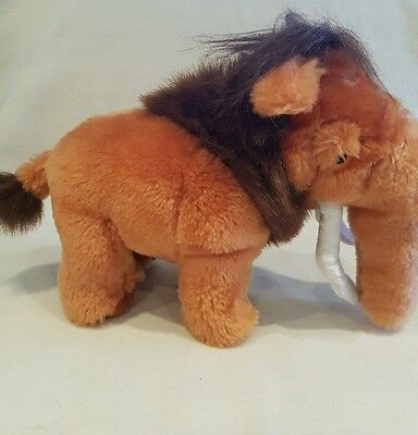 Ice Age 3 Dawn Of The Dinosaurs Manny Mammoth Soft Toy Plush 11""