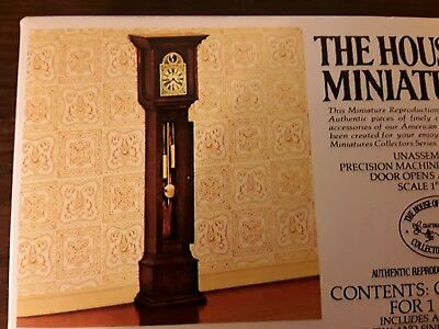 The House of Miniatures 40018 William & Mary Tall Case Clock Circa Eary 1700
