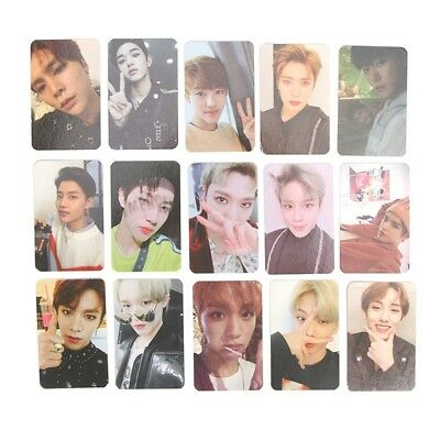 Kpop NCT 2018 Empathy Paper Cards Self Made Autograph Photocard Poster Fine