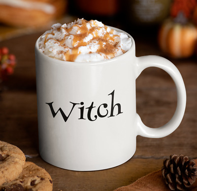 Wicca Gift - Witch Coffee Mug - Witches Brew Tea Cup - Halloween Present - Pagan