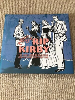 Rip Kirby Complete Strips Vol 4 1954-56. Alex Raymond. Hardcover. IDW. UNREAD