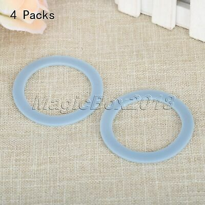 4pc White Rubber Sealing Gaskets O Ring For Oster Osterizer Blenders Mixer Parts