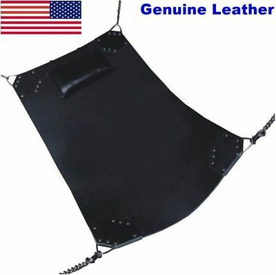 New-Brand-Genuine-Heavy-Duty-Leather-Sex-Swing-Sling-Adult-Play-Room-Fun-Sw6