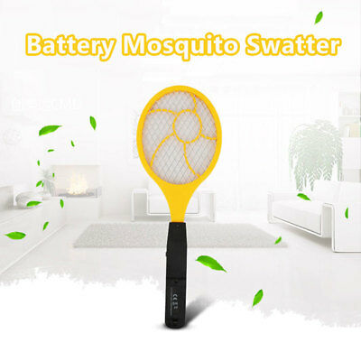 Flyswatter Electric Tennis Racket Handheld 44 *15.5 * 4cm Red Blue Trap Control