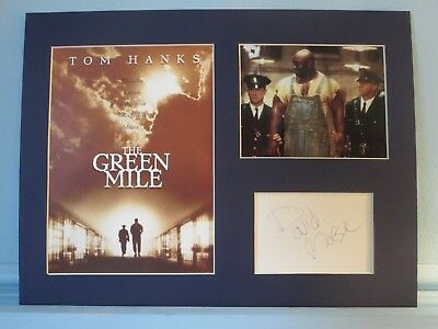 """Tom Hanks - """"The Green Mile"""" & autograph of David Morse as Guard Brutus Howell"""