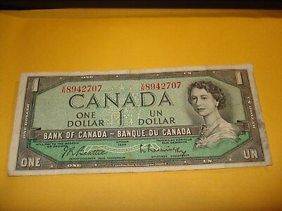 1954 - Canada - $1 note - Canadian one dollar - VN8942707