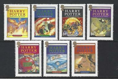Great Britain 2007 Harry Potter Unmounted Mint, Mnh Set Of 7
