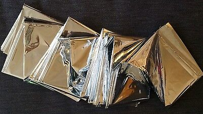 Thermal Foil Blanket Sensory Camping First Aid Emergency Large