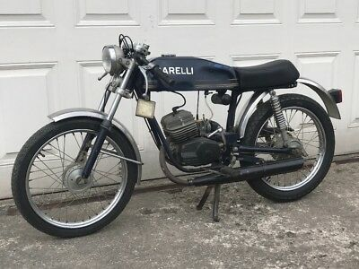 Garelli 50cc Sports Moped 1970's Cafe Racer