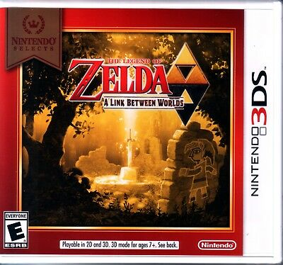 The Legend of Zelda: A Link Between Worlds for Nintendo 3DS Brand New!