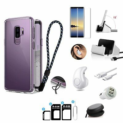 12 x Case Charger Bluetooth Earphone Accessory Kit For Samsung S7 S8+ S9+ Note 8