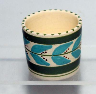 Honiton Pottery Egg Cup made in White Earthenware