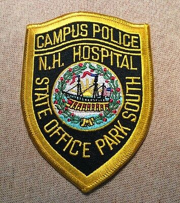 NH New Hampshire Hospital State Office Park South Campus Police Patch