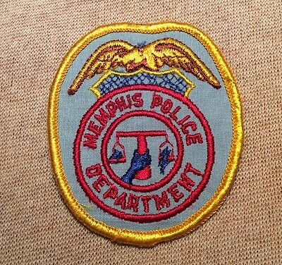 TN Memphis Tennessee Police Patch