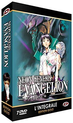 Neon Genesis Evangelion the TV Platinum Complete DVD-BOX PAL Japanese Tracking