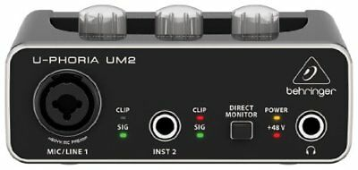 [Japan import]Behringer USB Audio Interface U-PHORIA UM2 Audiophile 2x2