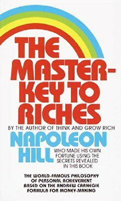The Master Key to Riches by Napoleon Hill Paperback Book The Cheap Fast Free