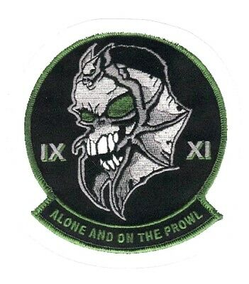 DESERT PROWLER SKULL STICKER ~ Classified US Black Project Mission Skunk Works