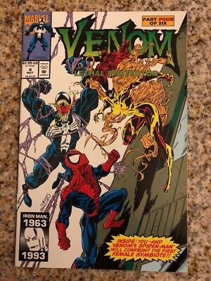 Venom Lethal Protector 4 VF+/NM * 1st Appearance of Scream *