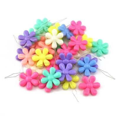 CUTE FLOWER SHAPE - STRONG, EASY GRIP, EASY TO USE, NEEDLE THREADER - 1-10 pcs