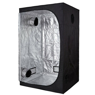 600D Mylar 24''x24''x48'' Grow Tent Room w/Green Window for Indoor Plant Growing