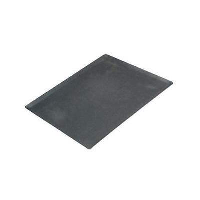 Baking Sheet 400x600mm Black Steel 2mm Gauge Cookie Biscuit Bakers Tray