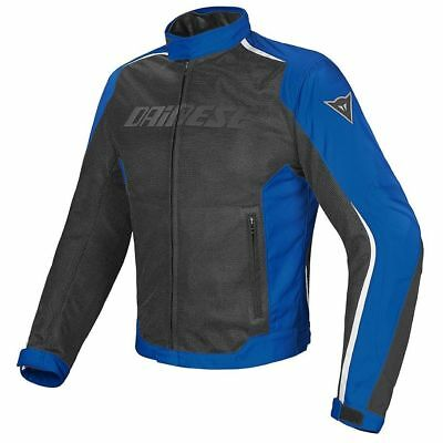 Dainese G. Hydra Flux D-DRY Black Princess Blue White, motorcycle jacket, NEW! -