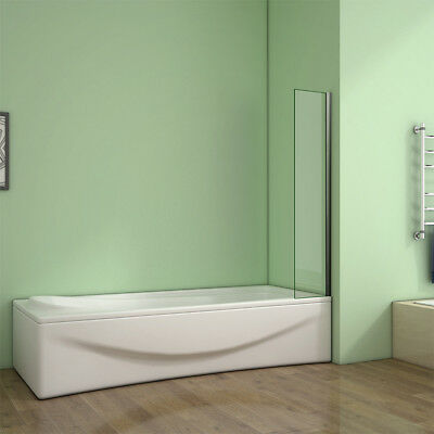 Corner Fixed Bath Shower Screen Over Bath Square Cut 250 300 350x1400mm Height