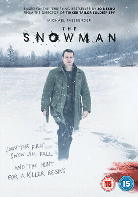 The Snowman DVD (2018) Michael Fassbender