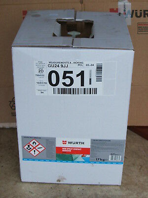 Wurth Web Spray Contact Adhesive Clear 17Kg 893.100.017 / 893100017