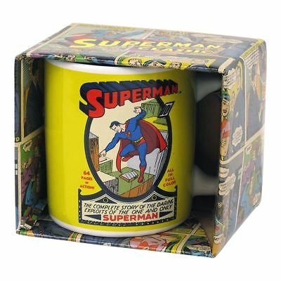 New DC Comics Superman Comic Cover #1 Mug Coffee Cup Classic Official