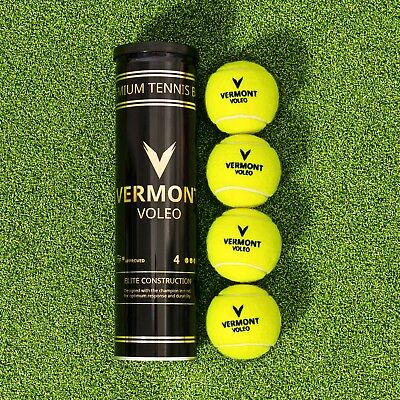 Vermont Voleo Tennis Balls | Grand Slam Quality | ITF Approved