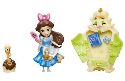 New Beauty Beast Disney Princess Little Kingdom Charmed Wardrobe Dolls Play Set