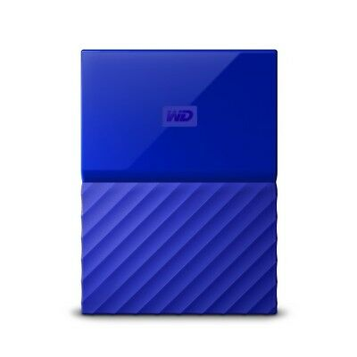 Disques durs Externe Western Digital My Passport 1TB bleu HDD