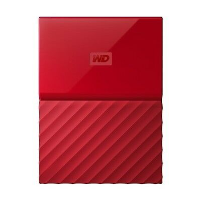 Disques durs Externe Western Digital My Passport 4TB rouge HDD USB 3.0
