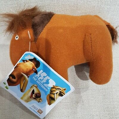 "New* Ice Age soft toy mammoth 6"" long"