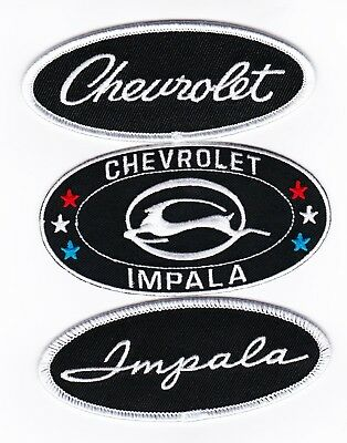 Chevy Impala Sew/iron On Patch Embroidered Badge Emblem Chevrolet Lowrider Ss
