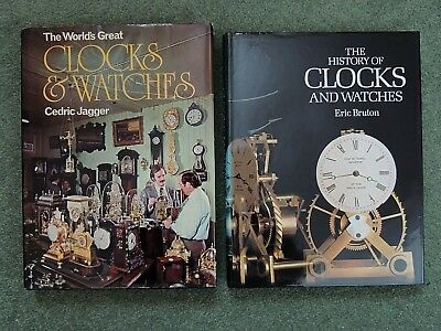The History of Clocks & Watches,  &  The Worlds Great Clocks & Watches,  2 Books