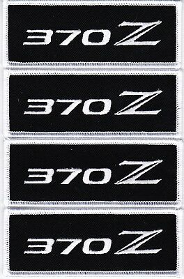 NISSAN 370Z (4) EMBROIDERED SEW/IRON ON PATCH BADGE 350z