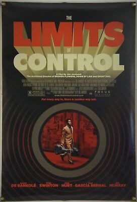 The Limits Of Control Ds Rolled Orig 1Sh Movie Poster Jim Jarmusch (2009)