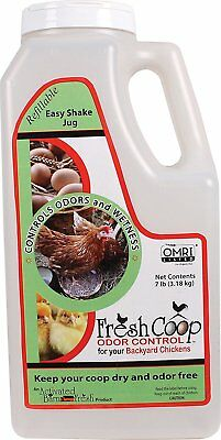 Fresh Coop Odor & Wetness Control For Backyard Chickens 7Lbs