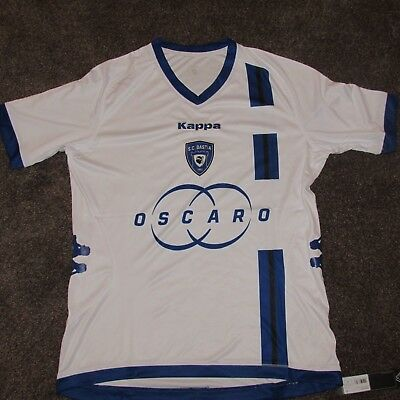 2012-13 BASTIA AWAY France FOOTBALL SHIRT  BNWT  SOCCER JERSEY CAMISETA  MAILLOT b9a20653f5533