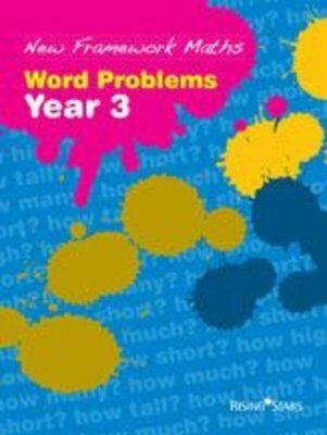 New Framework Maths: Word Problems Year 3: Work Problems... by VARIOUS Paperback