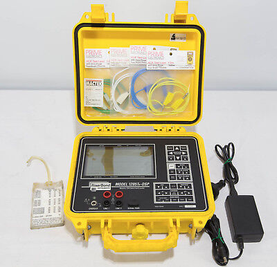 Riser Bond 1205TR-OSP Metallic TDR Cable Fault Locator Time Domain Reflectometer