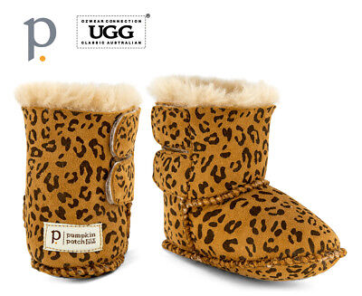Pumpkin Patch Baby Ugg Boot   Leopard Baby Footwear