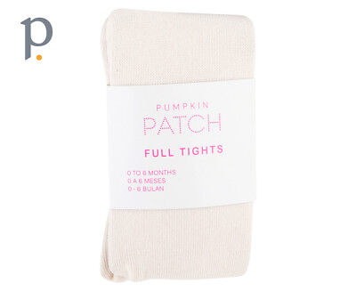 Pumpkin Patch Cotton Mix Tights   Sheer Cream Girls Baby And Toddler Apparel