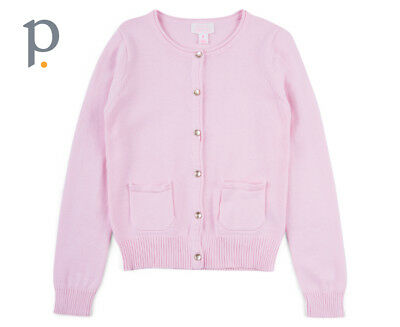 Pumpkin Patch Carly Rose Cardigan   Orchid Pink Girls Apparel
