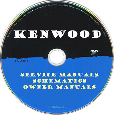 KENWOOD HIFI SERVICE Manuals & Schematics- PDFs on DVD - Huge Collection